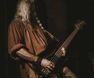 bass, brown, and music image