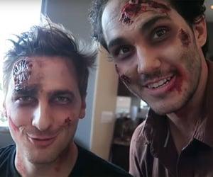 costume, zombies, and Halloween image