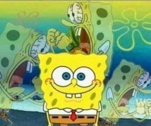 meme, spongebob, and reaction image