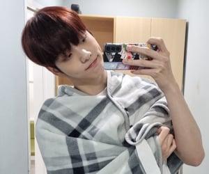 k-pop, selfie, and huening kai image