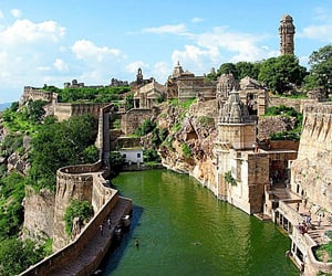 india, rajasthan, and world heritage site image