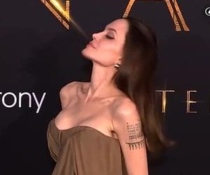 Angelina Jolie, jawline, and babe image