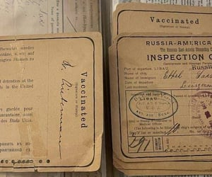cards, documents, and vintage image