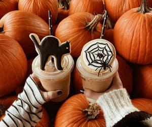 autumn, coffee, and decor image