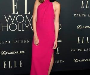 pink dress and gal gadot image