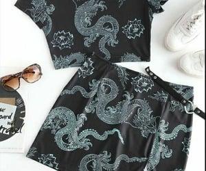 asia, conjunto, and fashion image
