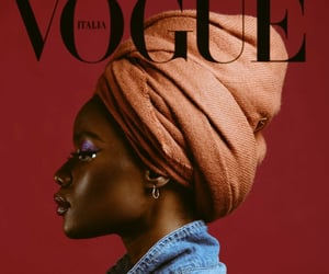 beauty, black women, and magazine image