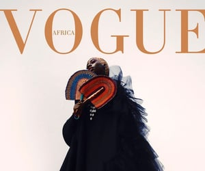 African, magazine, and vogue image