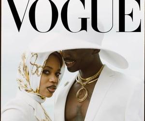 beauty, magazine, and vogue image