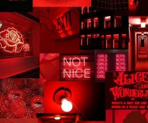 wallpaper, red, and love image