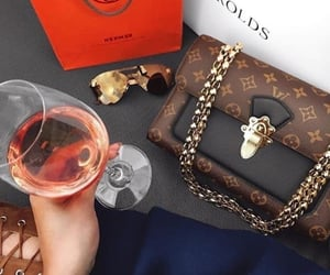 hermes, vino, and Louis Vuitton image