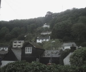 cold, cottage, and dark image