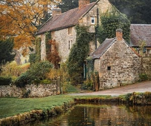 autumn and england image