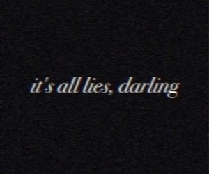 black, dark, and quote image
