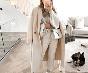 beige, fashion blogger, and sweater image