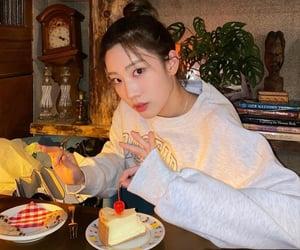 food, girl, and group image
