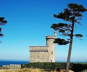castle, tower, and spain image