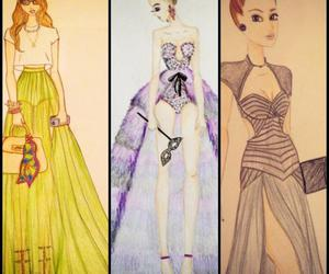 clothes, color, and Couture image