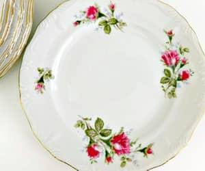 etsy, vintage dinnerware, and on sale image