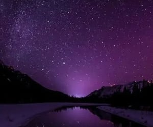 purple, night, and wallpaper image