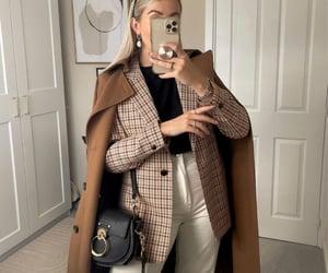 accessories, fall fashion, and blazer image