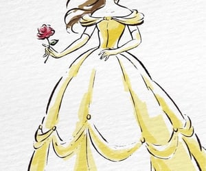background, beauty and the beast, and disney image