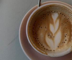 coffee, cappuccino, and morning image