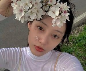 beautiful, 春, and girl image