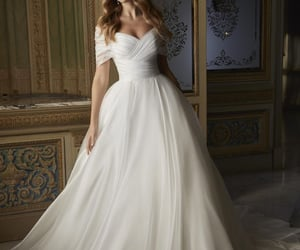 bride, dentelle, and lace image