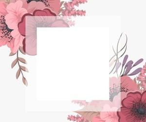 agenda, flowers, and planificateur image