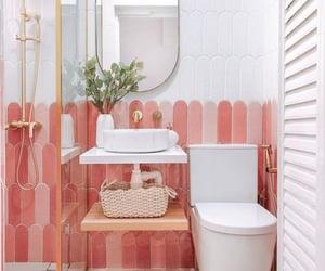 bathroom, Blanc, and home image