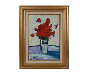 etsy, still life painting, and french art image