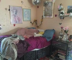 bedroom, girl, and teen image