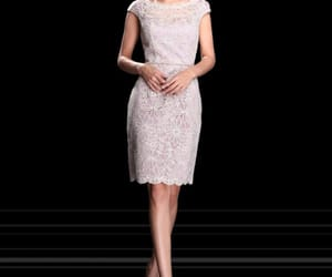 elegant, lace, and embroidery image