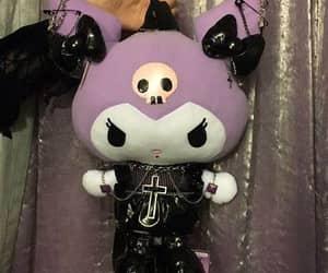 dark, goth, and cute image