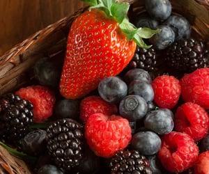 blackberries, blueberries, and fruit image
