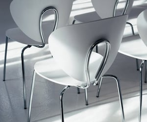 chairs, gray, and grey image