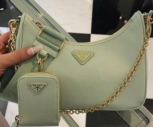 fashion, Prada, and green image