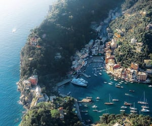 italy, travel, and portofino image