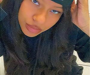 black woman, fashion, and cap image
