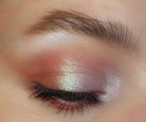 aesthetics, eyes, and eyeshadow image