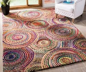etsy, indoor area rug, and rug for living room image