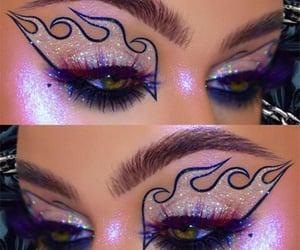 Halloween, halloween makeup ideas, and halloween makeup looks image