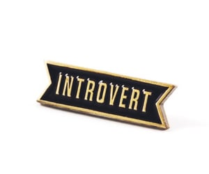 badge, introvert, and infj image