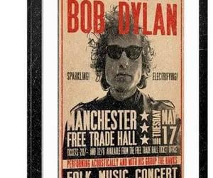 bob dylan, poster, and rock image