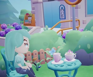 animal crossing, gaming, and cafe image