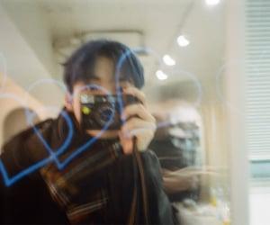boyfriend, Q, and film camera image