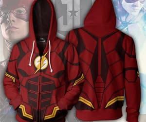 hoddie and superhero flash image