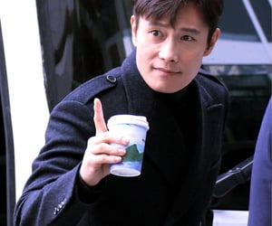 actor, coffee, and handsome image