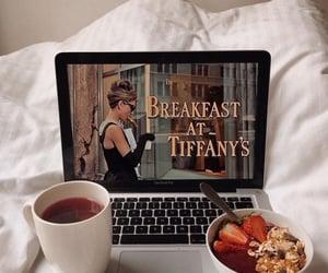 food, breakfast, and Breakfast at Tiffany's image